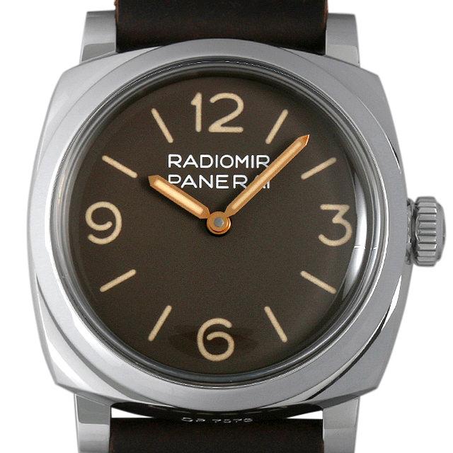 【48回払いまで無金利】パネライ ラジオミール 1940 3DAYS アッチャイオ S番 PAM00662 メンズ(0BDEOPAS0006)【中古】【未使用】【腕時計】【送料無料】