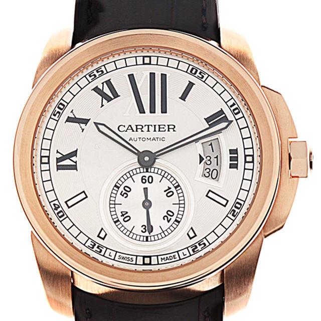 【48回払いまで無金利】カルティエ カリブル ドゥ カルティエ W7100009 メンズ(0050CAAU0024)【中古】【腕時計】【送料無料】