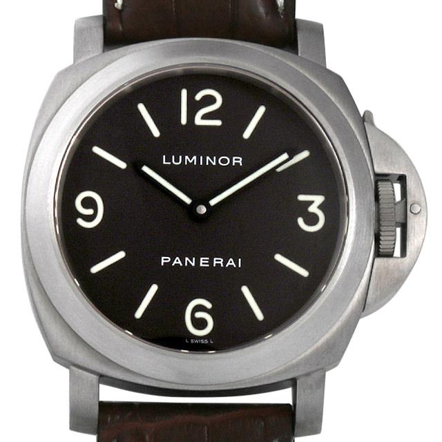 パネライ ルミノール ベース D番 PAM00055 メンズ(0050OPAU0008)【中古】【腕時計】【送料無料】