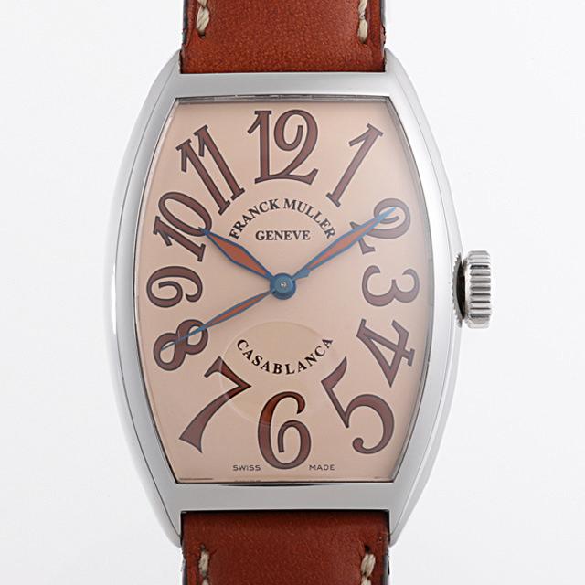 【48回払いまで無金利】フランクミュラー カサブランカ サハラ 5850CASA SAHARA AC メンズ(006XFRAU0093)【中古】【腕時計】【送料無料】