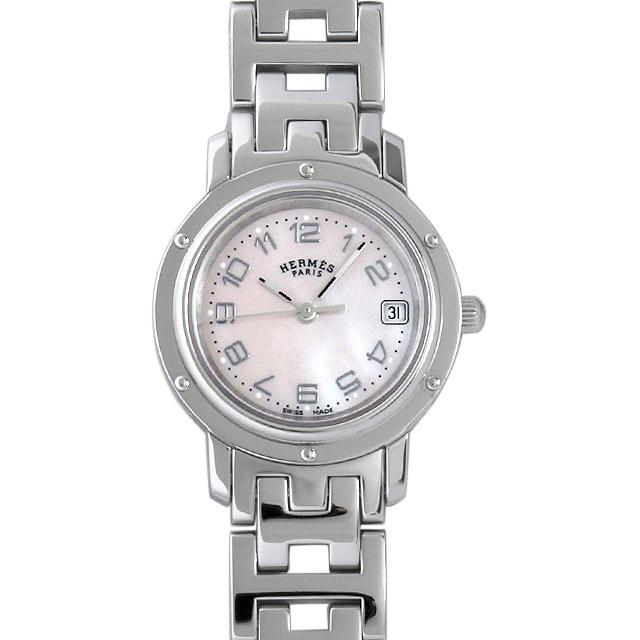 【48回払いまで無金利】エルメス クリッパー CL4.210 レディース(007UHEAU0009)【中古】【腕時計】【送料無料】