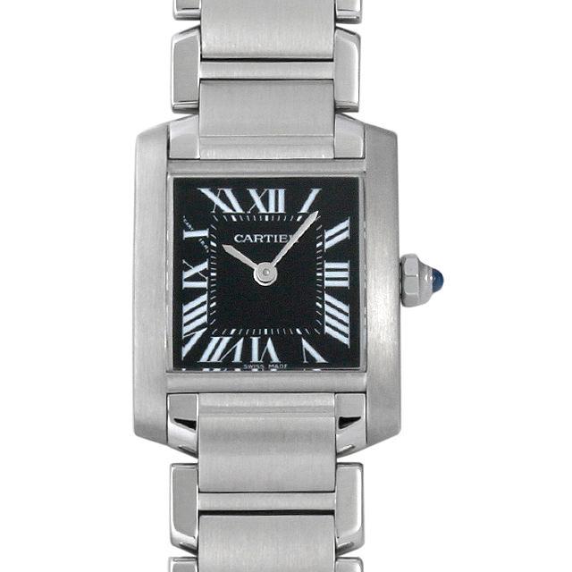 カルティエ タンクフランセーズSM W51026Q3 レディース(008WCAAU0088)【中古】【腕時計】【送料無料】