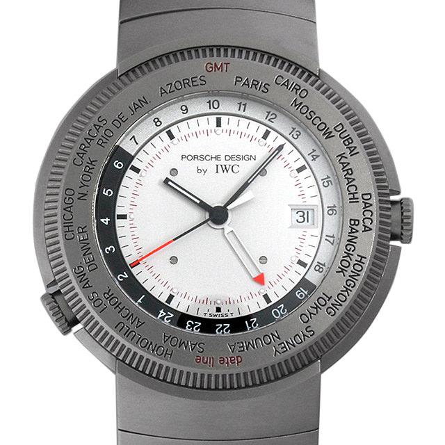 【48回払いまで無金利】ポルシェデザイン ワールドタイム 3822-002 メンズ(008WPOAU0005)【中古】【腕時計】【送料無料】