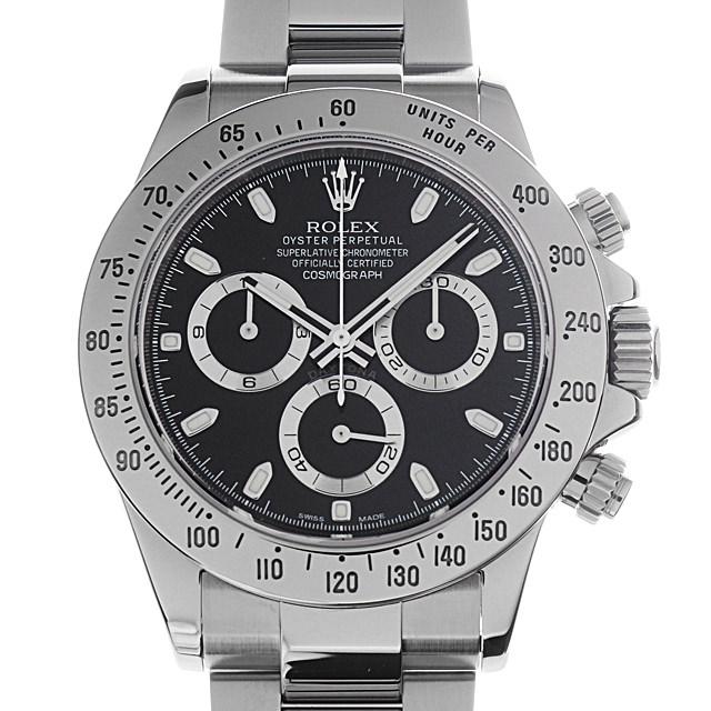 【48回払いまで無金利】ロレックス コスモグラフ デイトナ ランダムシリアル 116520 ブラック メンズ(0CHJROAU0001)【中古】【腕時計】【送料無料】
