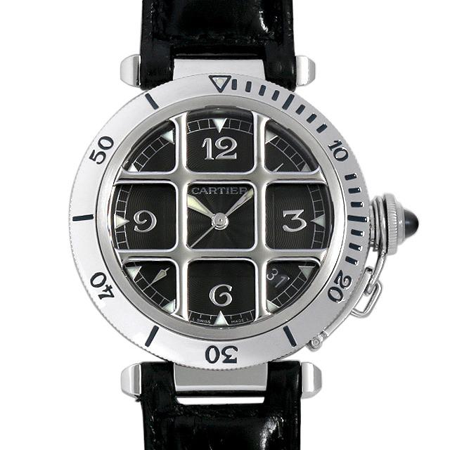 【48回払いまで無金利】SALE カルティエ パシャ グリッド 38mm W3105255 メンズ(0CJWCAAU0001)【中古】【腕時計】【送料無料】