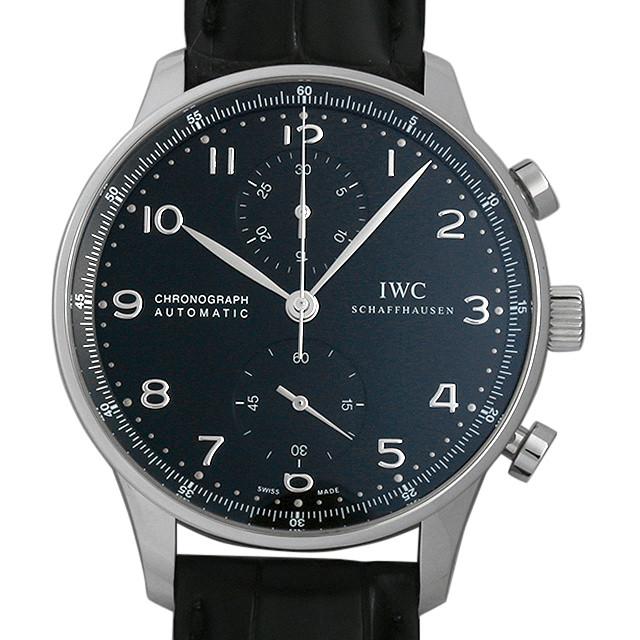 【48回払いまで無金利】IWC ポルトギーゼ クロノグラフ IW371447 メンズ(0CQJIWAU0001)【中古】【腕時計】【送料無料】