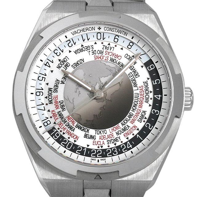 【48回払いまで無金利】ヴァシュロンコンスタンタン オーヴァーシーズ ワールドタイム 7700V/110A-B129 メンズ(009FVCAS0004)【中古】【未使用】【腕時計】【送料無料】