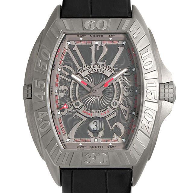 【48回払いまで無金利】フランクミュラー コンキスタドール グランプリ 8900SC DT GPG メンズ(006XFRAS0002)【中古】【未使用】【腕時計】【送料無料】