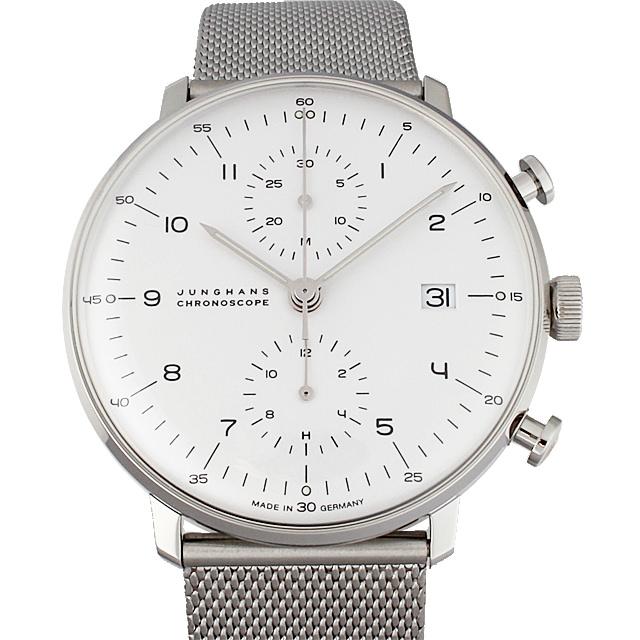 ユンハンス マックスビル クロノスコープ 027/4003.44 メンズ(006TJUAN0119)【新品】【腕時計】【送料無料】