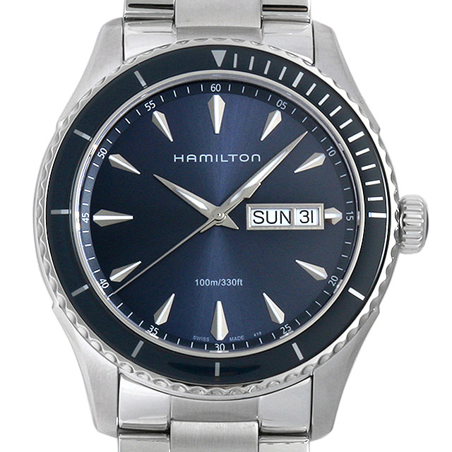 【48回払いまで無金利】ハミルトン シービュー デイデイト H37551141 メンズ(004UHMAN0024)【新品】【腕時計】【送料無料】