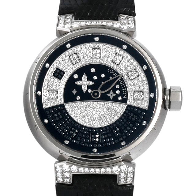 【48回払いまで無金利】SALE ルイヴィトン タンブール スピンタイム Q11C3 ボーイズ(ユニセックス)(001HLVAU0002)【中古】【腕時計】【送料無料】