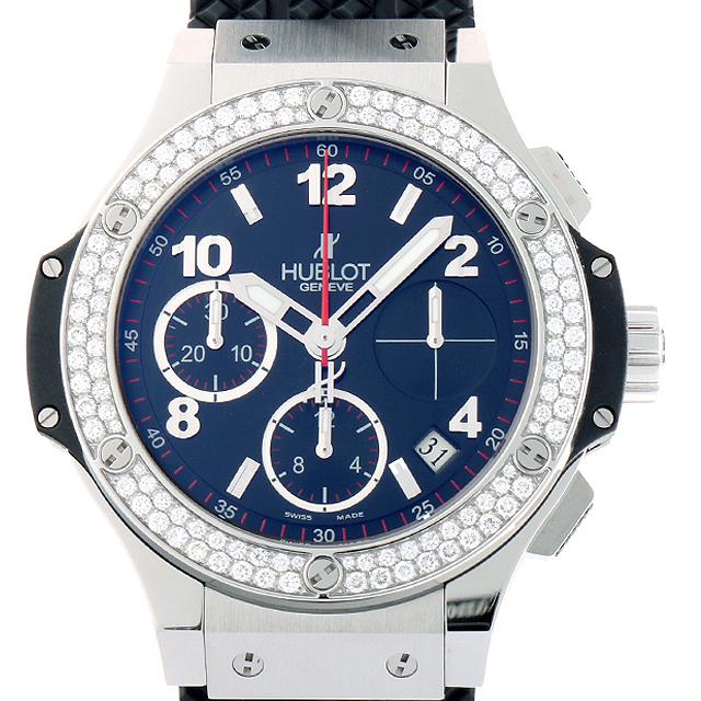 【48回払いまで無金利】ウブロ ビッグバン スチール ダイヤモンド 342.SX.130.RX.114 メンズ(006XHBAU0088)【中古】【腕時計】【送料無料】