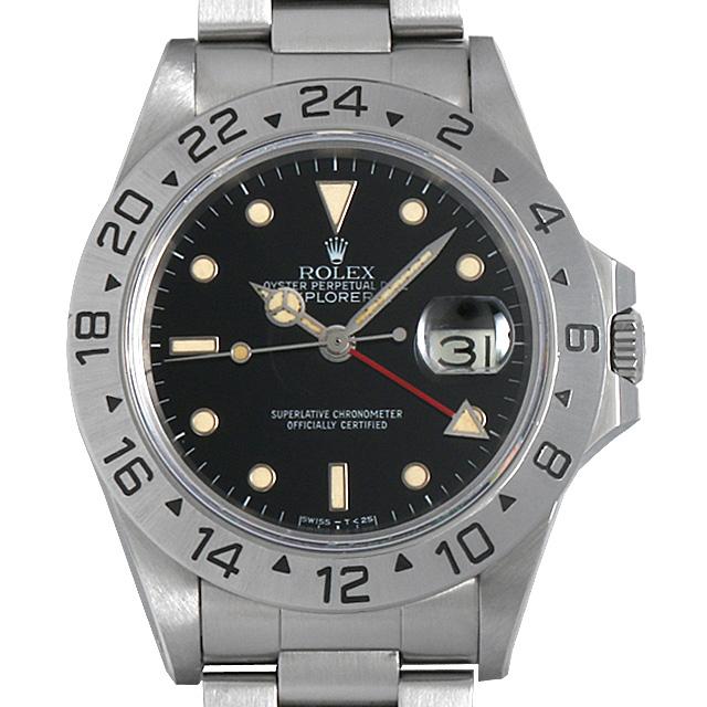 【48回払いまで無金利】SALE ロレックス エクスプローラーII 84番 16550 メンズ(006XROAU0466)【中古】【腕時計】【送料無料】