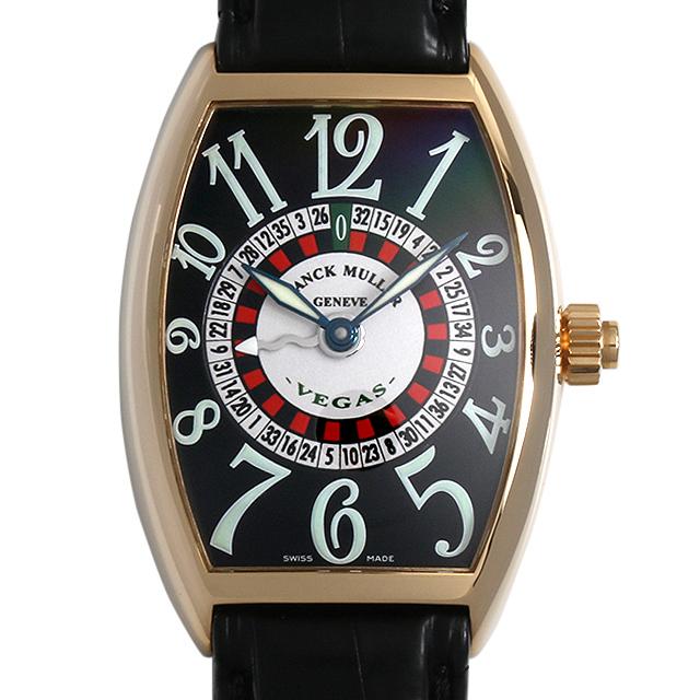 【48回払いまで無金利】SALE フランクミュラー ヴェガス 5850VEGAS 3N メンズ(007UFRAU0105)【中古】【腕時計】【送料無料】