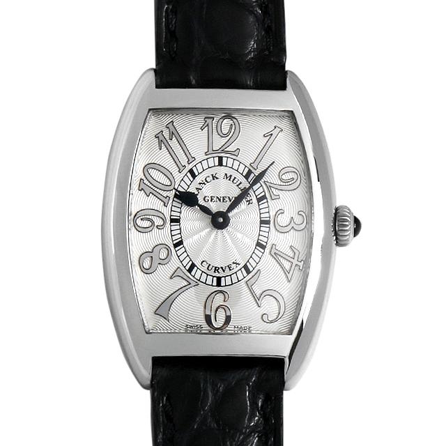 フランクミュラー トノーカーベックス レリーフ 1752QZ RELIEF AC レディース(007UFRAU0109)【中古】【腕時計】【送料無料】