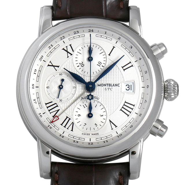 【48回払いまで無金利】モンブラン スター クロノグラフ UTC オートマティック 107113 メンズ(039XMLAU0001)【中古】【腕時計】【送料無料】