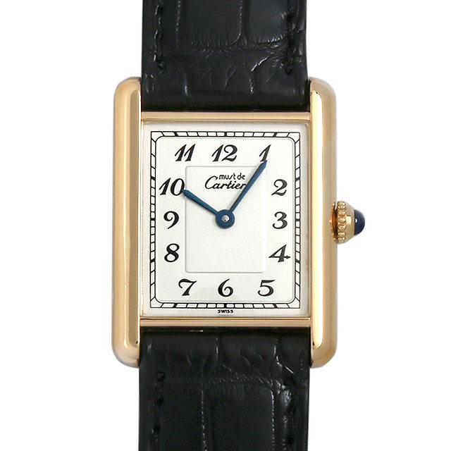 【48回払いまで無金利】カルティエ マストタンク SM ヴェルメイユ レディース(0BCCCAAU0002)【中古】【腕時計】【送料無料】