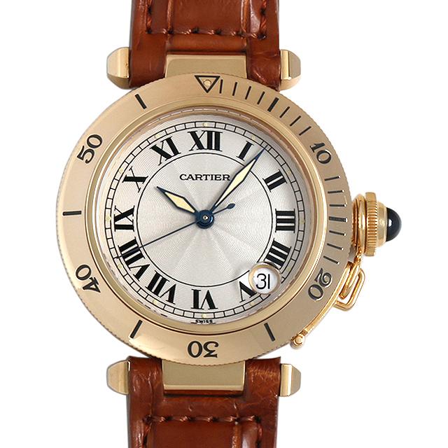 【48回払いまで無金利】SALE カルティエ パシャ 35mm W3004856 メンズ(0BCCCAAU0004)【中古】【腕時計】【送料無料】