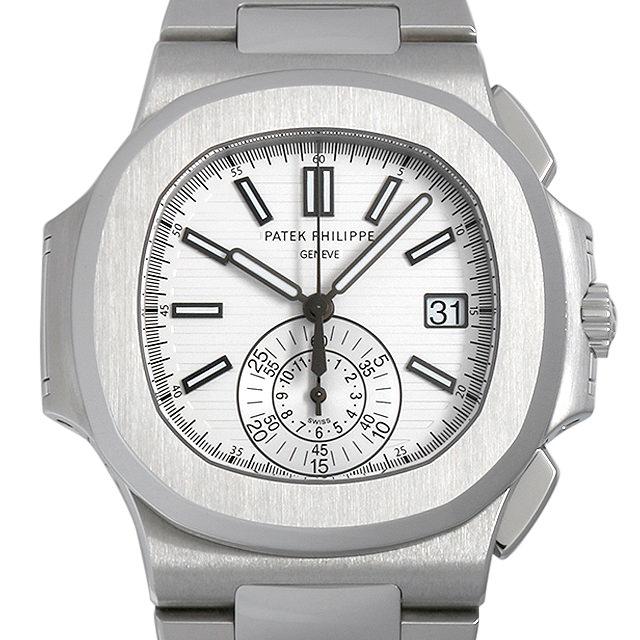 【48回払いまで無金利】パテックフィリップ ノーチラス クロノグラフ 5980/1A-019 メンズ(0DD8PPAU0001)【中古】【腕時計】【送料無料】