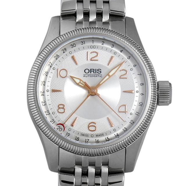 【48回払いまで無金利】オリス ビッグクラウン ポインターデイト 754 7679 4031M メンズ(006TOSAN0019)【新品】【腕時計】【送料無料】