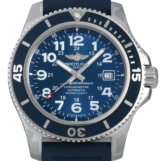 【48回払いまで無金利】ブライトリング スーパーオーシャンII 44 A192C10VRC(A17392) メンズ(009FBRAN0007)【新品】【腕時計】【送料無料】