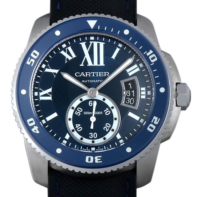 【48回払いまで無金利】カルティエ カリブル ドゥ カルティエ ダイバー WSCA0010 メンズ(001HCAAS0003)【中古】【未使用】【腕時計】【送料無料】