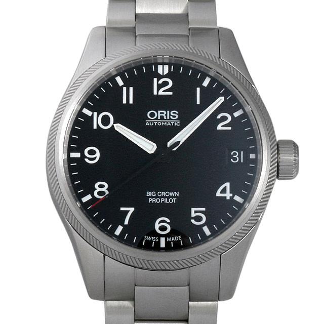 【48回払いまで無金利】オリス ビッグクラウン 751 7697 4164M メンズ(006TOSAN0017)【新品】【腕時計】【送料無料】