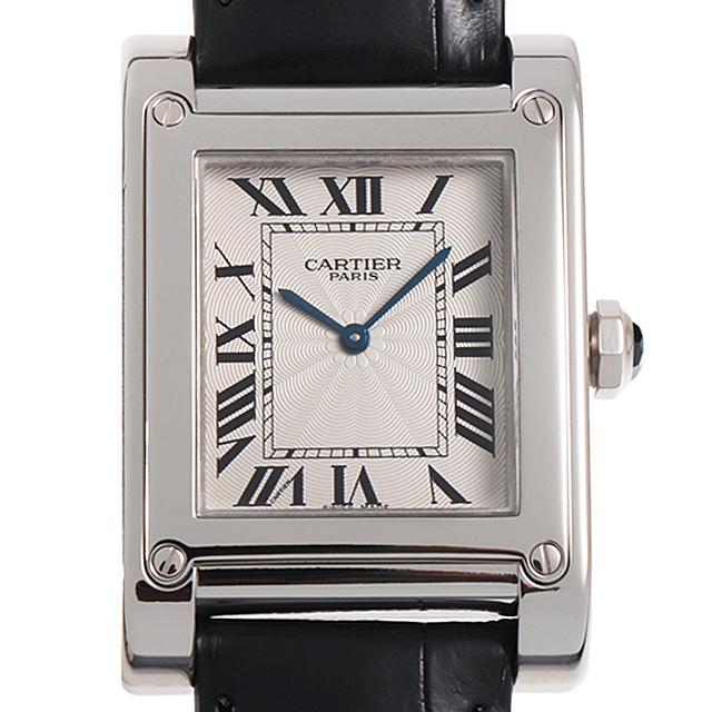 【48回払いまで無金利】カルティエ タンクアビス CPCP W1540451 メンズ(007UCAAU0074)【中古】【腕時計】【送料無料】