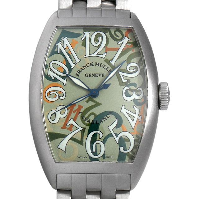 【48回払いまで無金利】SALE フランクミュラー カサブランカ カモフラージュ 5850CBR CAMOUFLAGE AC メンズ(007UFRAU0112)【中古】【腕時計】【送料無料】