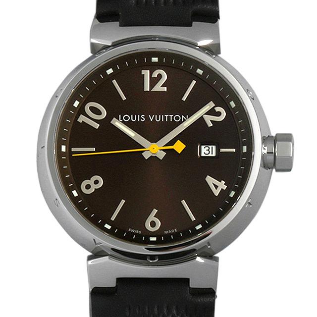 【48回払いまで無金利】ルイヴィトン タンブールGM Q1111 5 メンズ(007ULVAU0017)【中古】【腕時計】【送料無料】