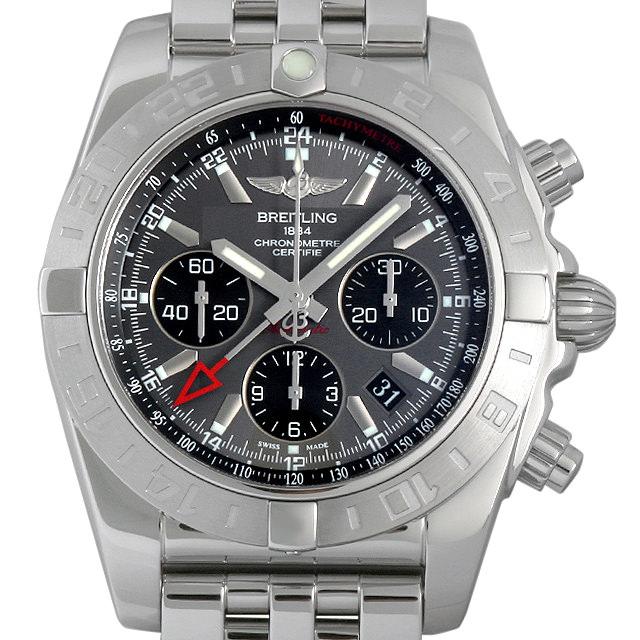 【48回払いまで無金利】ブライトリング クロノマット44 GMT A042F61PA(AB0420) メンズ(008KBRAU0021)【中古】【腕時計】【送料無料】