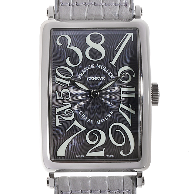 【48回払いまで無金利】フランクミュラー ロングアイランド クレイジーアワーズ 1200CH OG メンズ(009MFRAU0018)【中古】【腕時計】【送料無料】
