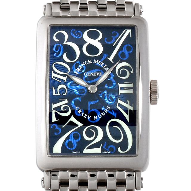 【48回払いまで無金利】SALE フランクミュラー ロングアイランド クレイジーアワーズ 1200CH O OG メンズ(009VFRAU0062)【中古】【腕時計】【送料無料】