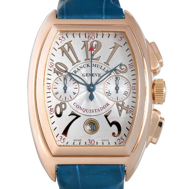 【48回払いまで無金利】フランクミュラー コンキスタドール クロノグラフ 8002CC 5N メンズ(0456FRAU0001)【中古】【腕時計】【送料無料】