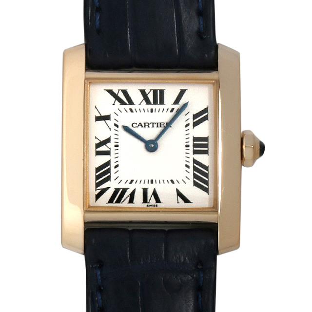 【48回払いまで無金利】カルティエ タンクフランセーズ MM W5000356 ボーイズ(ユニセックス)(093LCAAU0001)【中古】【腕時計】【送料無料】