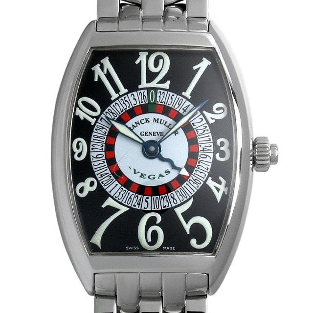 【48回払いまで無金利】フランクミュラー ヴェガス 6850VEGAS OAC メンズ(0DF7FRAU0001)【中古】【腕時計】【送料無料】