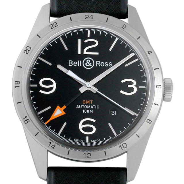 【48回払いまで無金利】ベル&ロス ヴィンテージ GMT BRV123-BL-GMT/SRB メンズ(006MBOAR0004)【新品】【腕時計】【送料無料】