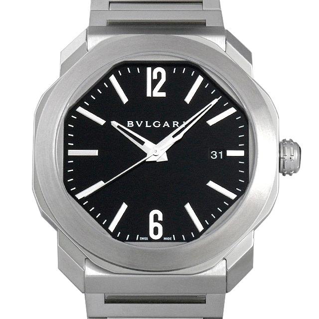 【48回払いまで無金利】ブルガリ オクト ローマ OC41BSSD メンズ(006MBVAR0009)【新品】【腕時計】【送料無料】