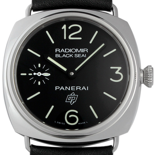 【48回払いまで無金利】パネライ ラジオミール ブラックシール ロゴ アッチャイオ PAM00380 メンズ(006MOPAN0009)【新品】【腕時計】【送料無料】