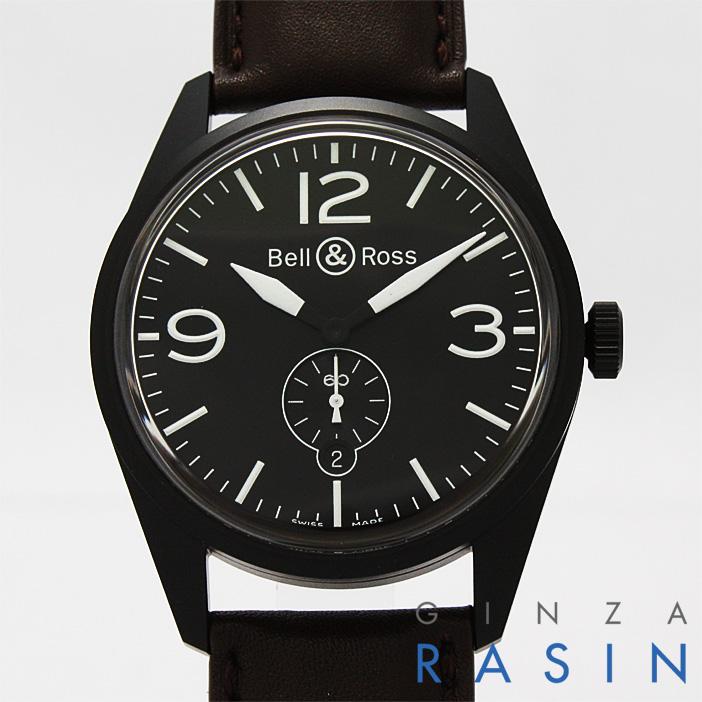 【48回払いまで無金利】ベル&ロス ヴィンテージ オリジナルカーボン BR123 メンズ(N-BR123)【新品】【腕時計】【送料無料】