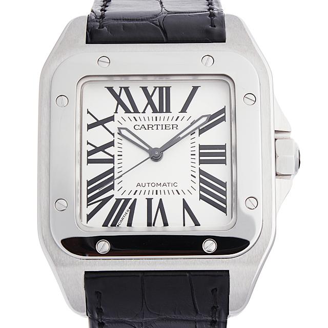 【48回払いまで無金利】カルティエ サントス100 LM W20073X8 メンズ(0066CAAN0799)【新品】【腕時計】【送料無料】