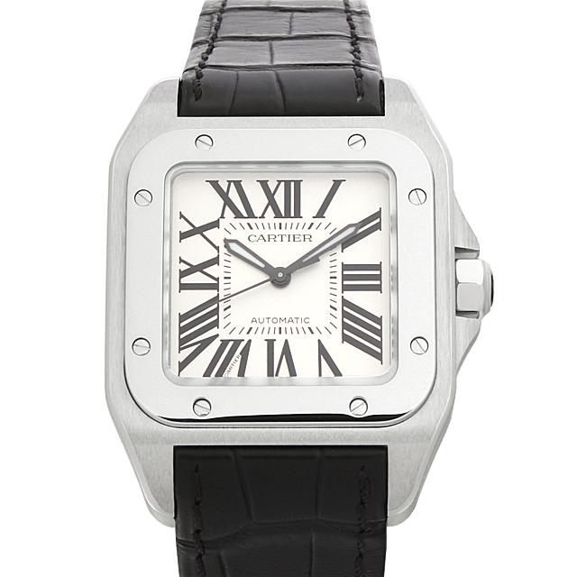 カルティエ サントス100 MM W20106X8 ボーイズ(ユニセックス)(0066CAAN0368)【新品】【腕時計】【送料無料】
