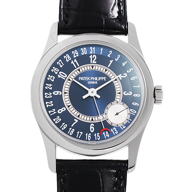 【48回払いまで無金利】パテックフィリップ カラトラバ 6000G-012 メンズ(006TPPAU0002)【中古】【腕時計】【送料無料】