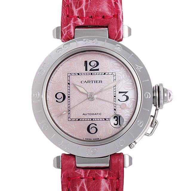 【48回払いまで無金利】カルティエ パシャC メリディアンGMT 2004年クリスマス限定 W3107099 レディース(006XCAAU0115)【中古】【腕時計】【送料無料】