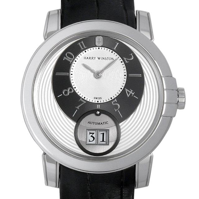 【48回払いまで無金利】SALE ハリーウィンストン ミッドナイト ビッグデイト MIDABD42WW001 メンズ(006XHWAU0032)【中古】【腕時計】【送料無料】