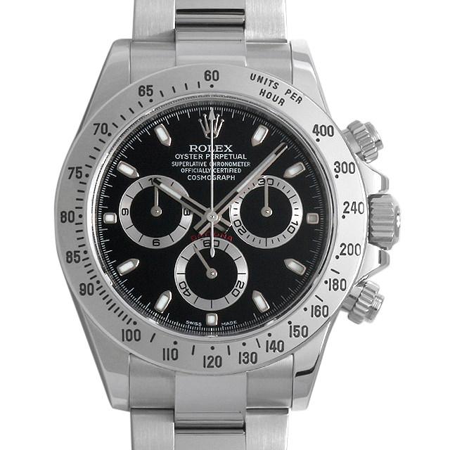 【48回払いまで無金利】ロレックス コスモグラフ デイトナ ランダムシリアル 116520 ブラック/新クラスプ メンズ(006XROAU0556)【中古】【腕時計】【送料無料】