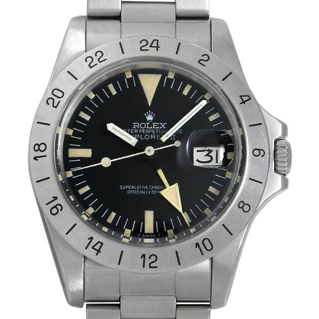 【48回払いまで無金利】SALE ロレックス エクスプローラーII 37番 1655 アルビノ メンズ(007UROAA0050)【アンティーク】【腕時計】【送料無料】