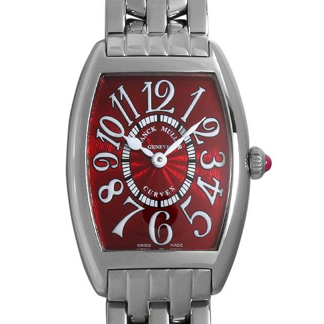 【48回払いまで無金利】SALE フランクミュラー トノーカーベックス レッドカーペット 1752QZ RED CARPET OAC レディース(008KFRAU0033)【中古】【腕時計】【送料無料】