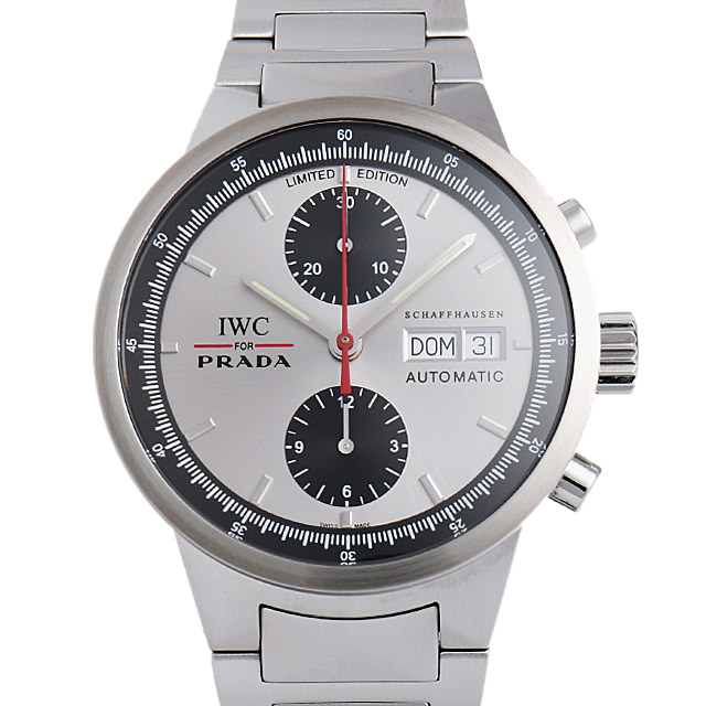 【48回払いまで無金利】IWC GSTクロノ プラダ IW370801 メンズ(008WIWAU0056)【中古】【腕時計】【送料無料】