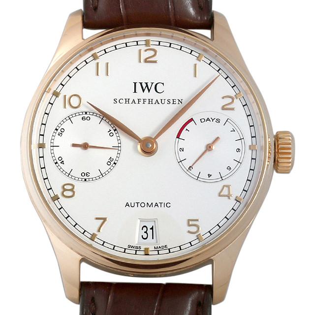 【48回払いまで無金利】IWC ポルトギーゼ オートマチック 7デイズ IW500101 メンズ(009VIWAU0050)【中古】【腕時計】【送料無料】